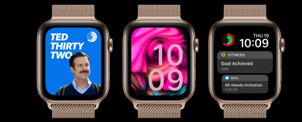 Watch faces are new