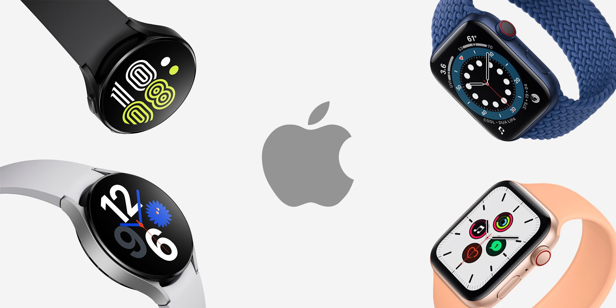 Apple Watch Now Has Real Competition from Samsung and Google
